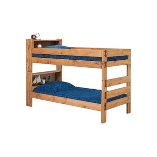 Blais Twin Bookcase Bunk Bed