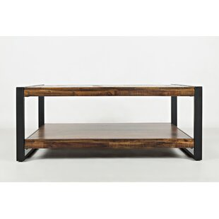 Cameron Contemporary Wooden Coffee Table by Millwood Pines