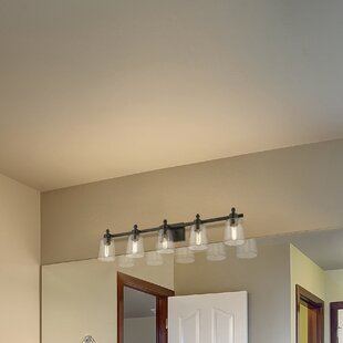 Affordable Leboeuf 5-Light Vanity Light ByBreakwater Bay