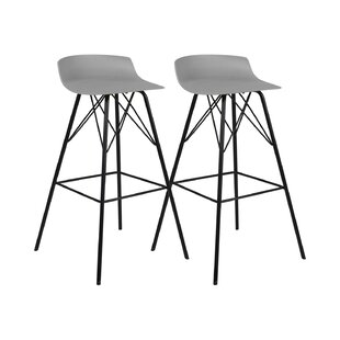 Gabija 71cm Bar Stool (Set Of 2) By Mercury Row