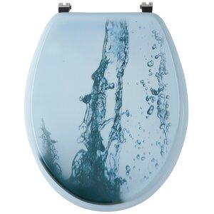 WC-Sitz Waterjet Rund von Sanwood