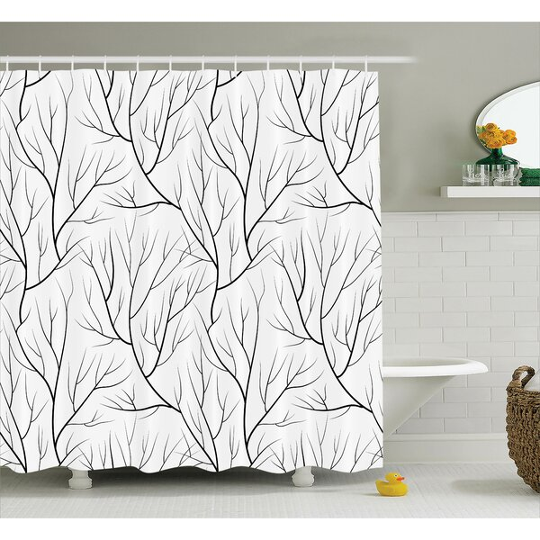 Japanese Style Shower Curtain