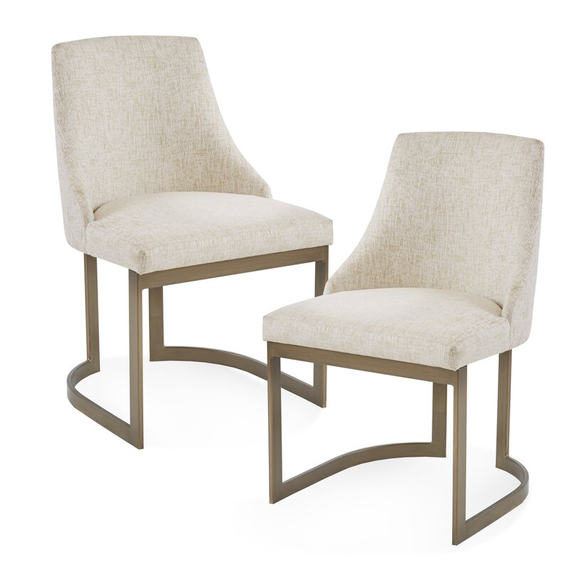 Brayden Studio Faunsdale Upholstered Dining Chair Reviews Wayfair