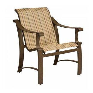 Woodard Bungalow Sling Patio Dining Chair