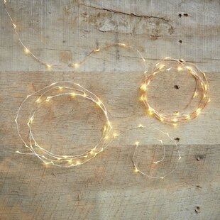 VivaTerra Bendable LED Fairy String Lights