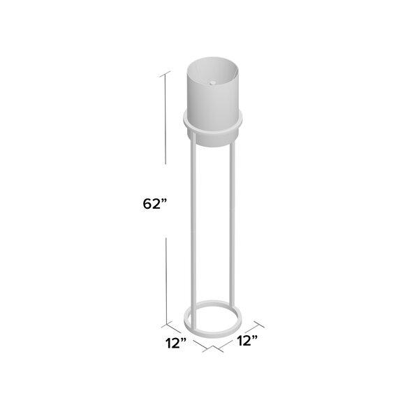 Orren Ellis Bricelyn 62 Column Floor Lamp Reviews Wayfair