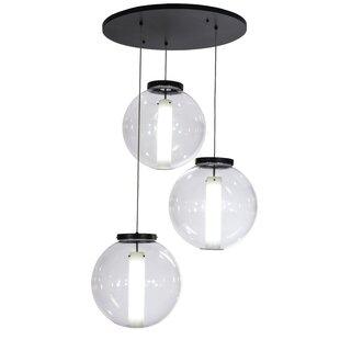 Meyda Tiffany Greenbriar Oak 3-Light Pendant