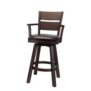 Pompano Swivel Bar Stool (Set of 2)