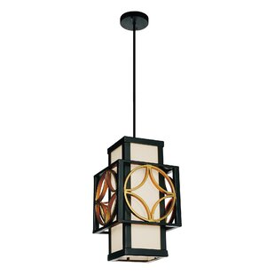 CWI Lighting Eva 1-Light Square/Rectangle Pendant
