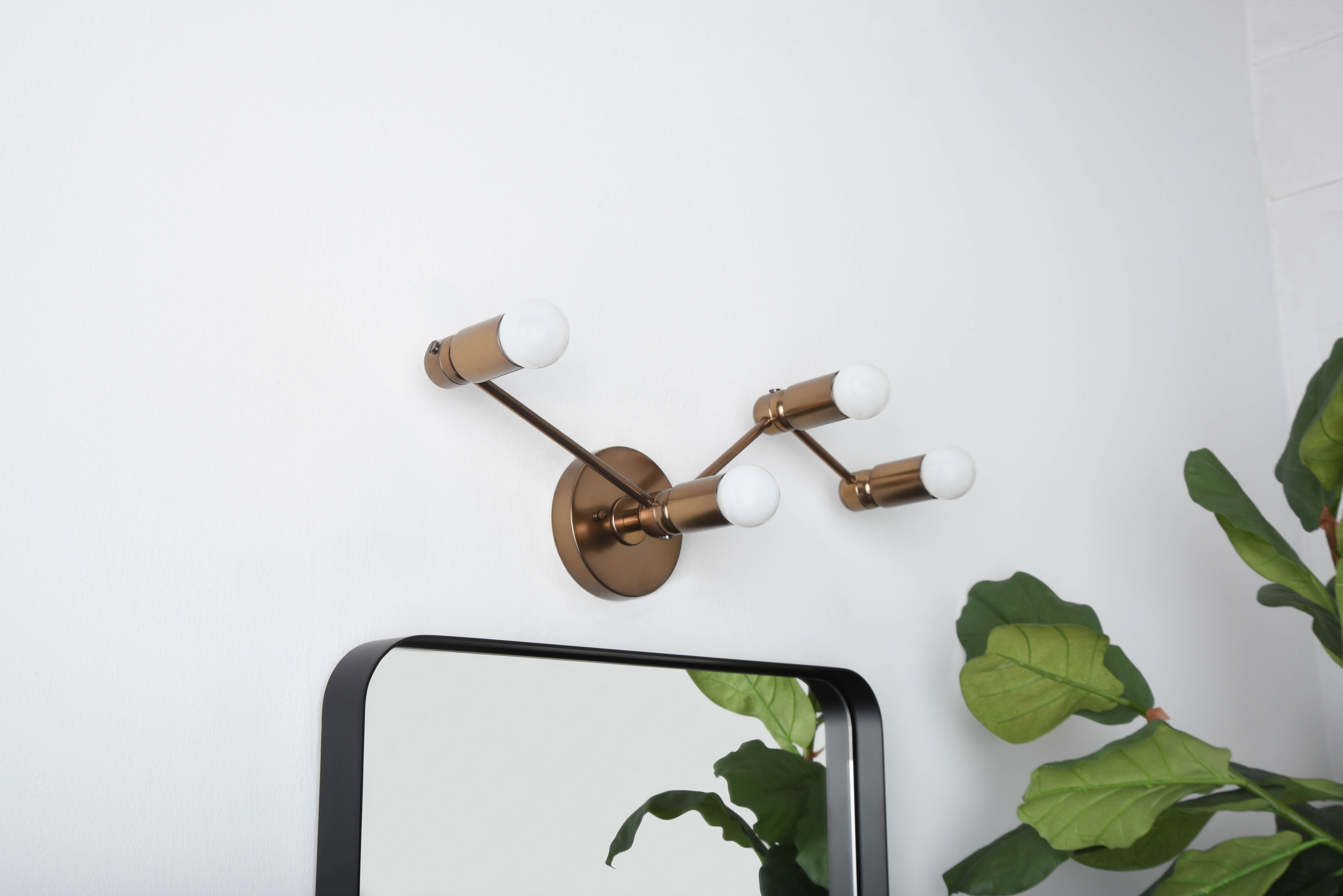 Antique Bronze Mid Century Modern Wall Sconces You Ll Love In 2021 Wayfair