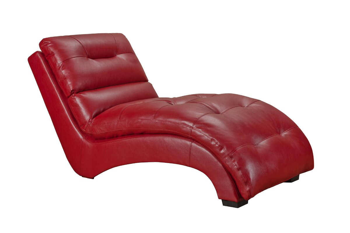 Daphne Chaise Lounge  sc 1 st  Wayfair.com : chaise red - Sectionals, Sofas & Couches