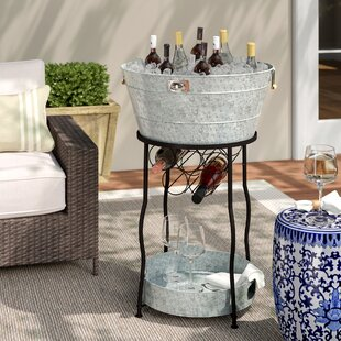 Best Deals Hoyleton Party Station Beverage Tub Laurel Foundry Modern Farmhouse