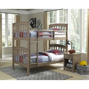 Gena 2 Piece Twin over Twin Bunk Bed Set