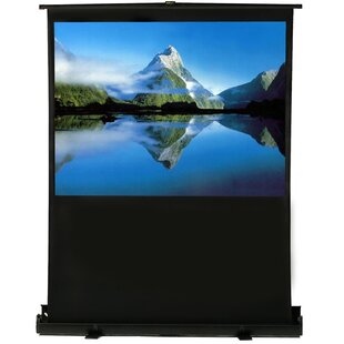 Great Price White 80 diagonal Portable Projection Screen By Elunevision