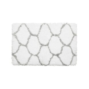 Reviews Alfred Chunky Shag Gray/White Area Rug By Vista Living