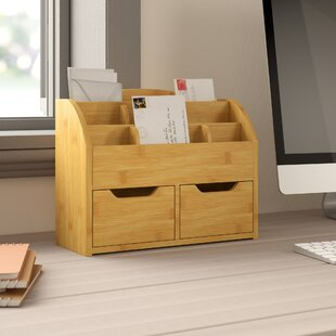 Delavan 2 Drawer Stationery Box By Natur Pur