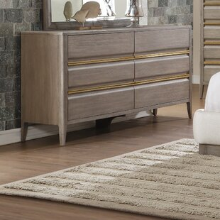 Mcchesney 6 Drawer Dresser by Wrought Studio