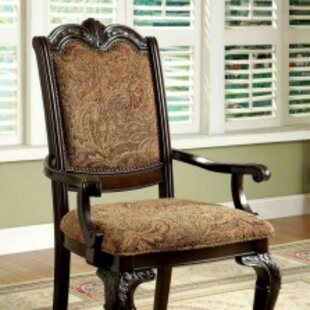 Rolanda Traditional Upholstered Dining Chair (Set of 2) Astoria Grand