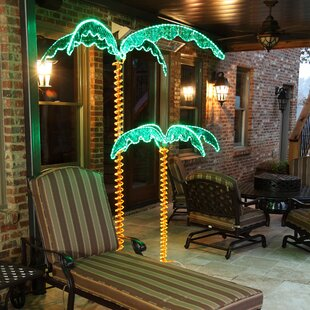 Bayou Breeze LED Palm Tree Rope Light