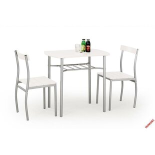 Lance Dining Set With 2 Chairs By Castleton Home