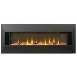 Lorin Wall Mounted Electric Fireplace by Orren Ellis