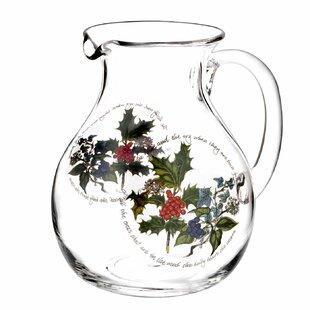 The Holly And The Ivy 3.4 L Jug By Portmeirion