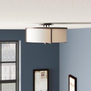 Rainer 4-Light Semi-Flush Mount by Brayden Studio