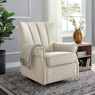 Coosada Upholstered Glider by Harriet Bee