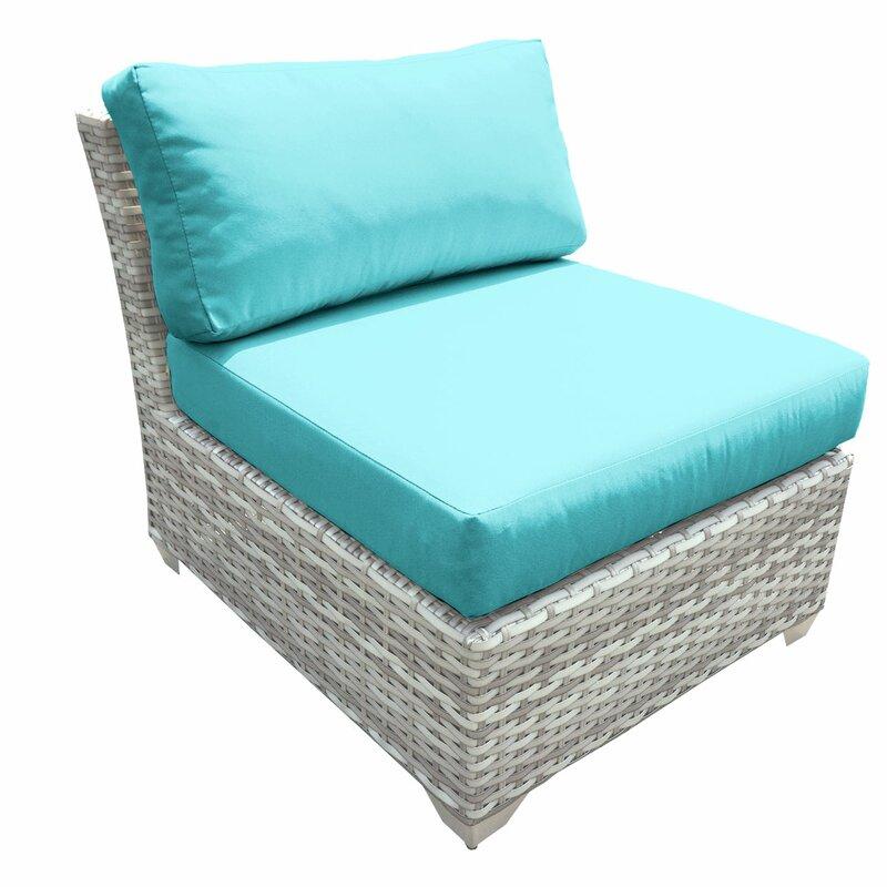 Outdoor Falmouth Armless Patio Chair