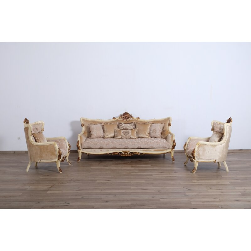Astoria Grand Mazie 3 Piece Living Room Set Wayfair