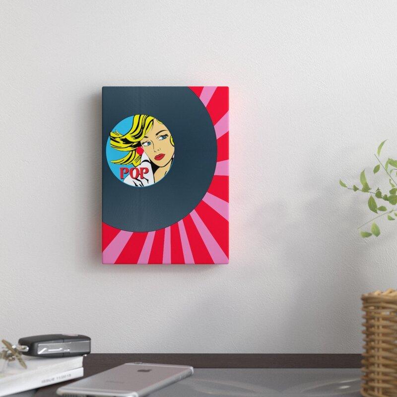 Vinyl Disc Wall Decoration