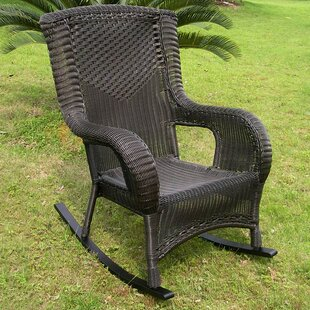 Wellington High Back Patio Rocking Chair