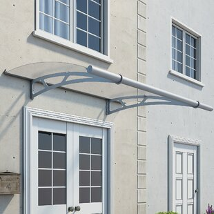 Aquila 7 ft. W x 4.5 ft. D Window & Door Awning by Palram