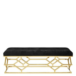 Trellis Upholstered Bench