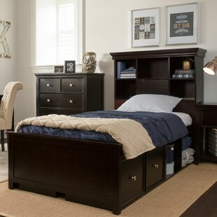 Cowan Twin Panel Bed With Storage by Harriet Bee #2