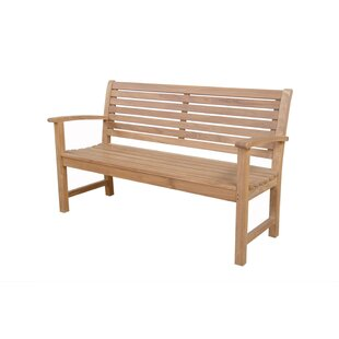 Noe Garden Wood Bench by Bay Isle Home