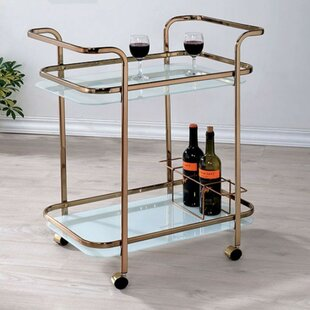 Mistana Tongouin Serving Bar Cart