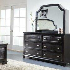 Kay 6 Drawer Dresser with Mirror by Rosdorf Park
