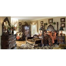 Essex Manor Four Poster Customizable Bedroom Set by Michael Amini (AICO)