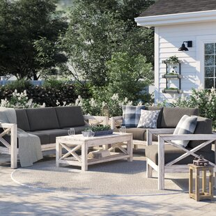 Barden 5 Piece Sofa Set with Sunbrella Cushions
