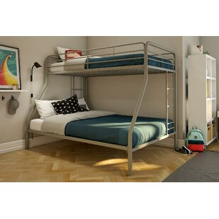 Affordable Mickey Twin over Full Bunk Bed with Mattress by Harriet Bee Reviews (2019) & Buyer's Guide