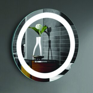 Compare prices Ilana LED Lighted Bathroom/Vanity Mirror By CIVIS USA