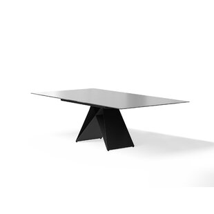 Amabilia Extendable Dining Table Latitude Run