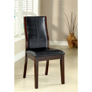 Leo Minor Solid Dining Chair (Set of 2) Latitude Run