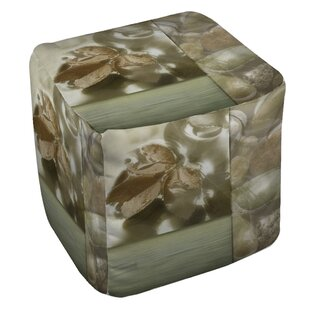 Natural Elements 1 Pouf by Manual Woodworkers & Weavers