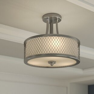 Lofton 3-Light Semi Flush Moun..