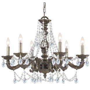Viv + Rae Odessa 6-Light Candle Style Chandelier