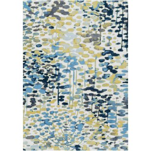 Perfect Ladson Yellow/Blue Area Rug