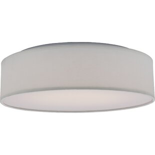 August Grove Centauree 1-Light LED Flush Mount