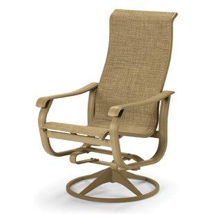 Villa Swivel Patio Dining Chair (Set of 2)